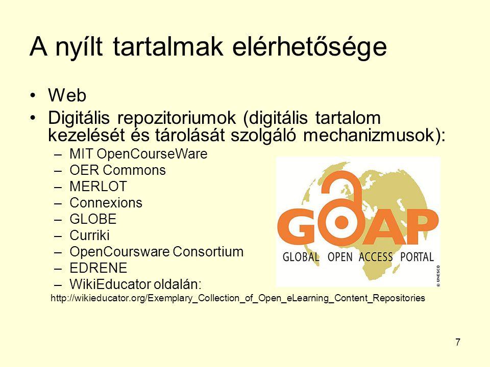 8 A MIT OpenCourseWare használata 2016.