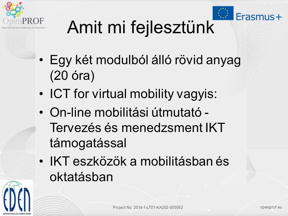 openprof.eu Project No.