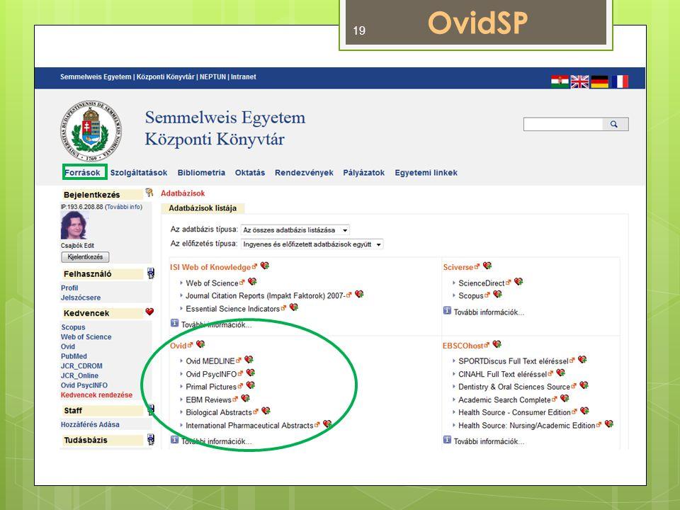 OvidSP 19