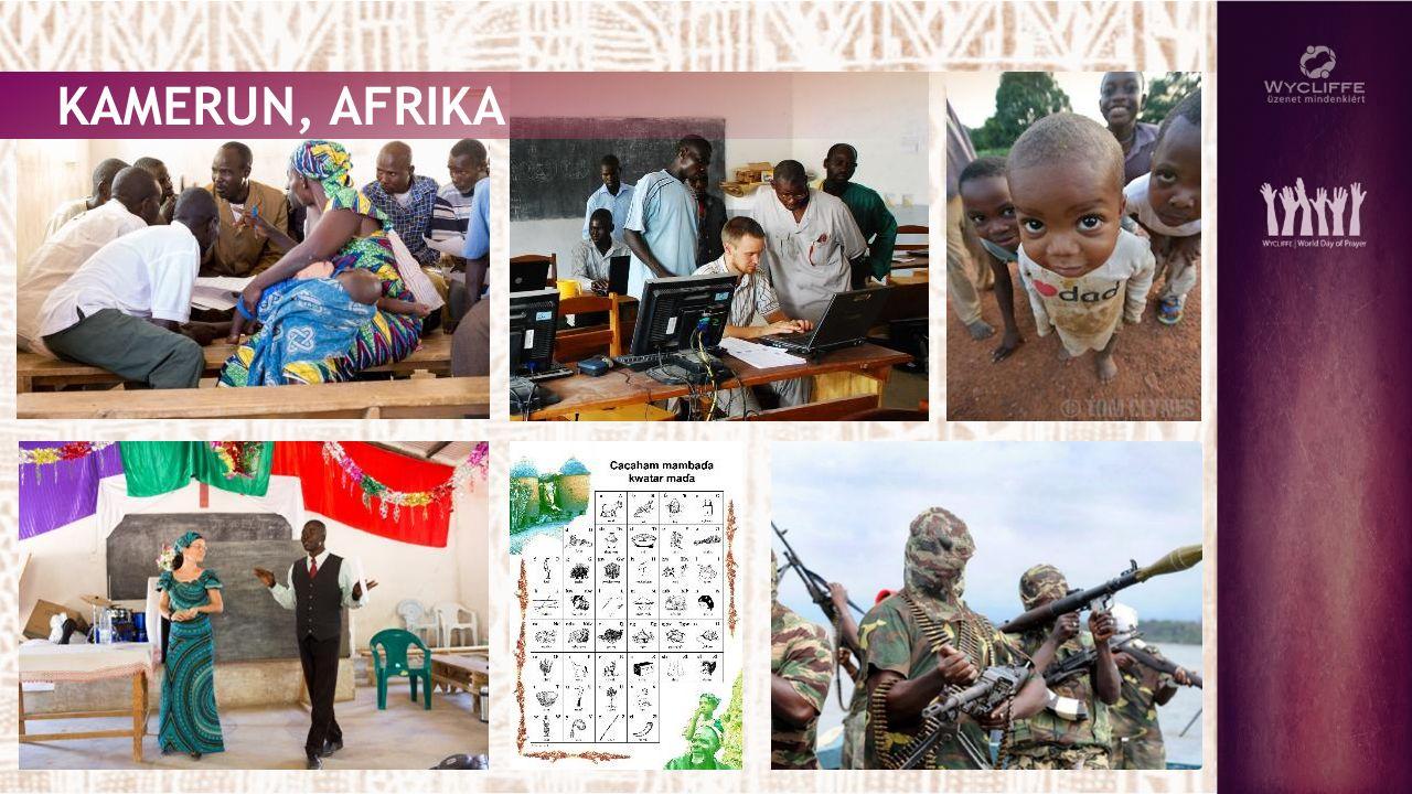 KAMERUN, AFRIKA