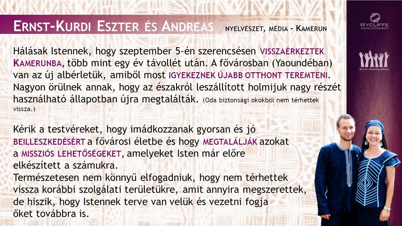 Kérjük, gondoljanak imában azokra a népekre A FRIKA DÉLI RÉSZÉN, AKIKNEK MÉG NINCS MEG AZ ANYANYELVÉN A S ZENTÍRÁS (még legalább 100 ilyen nyelvcsoport van), vagy akik nem tudják azt olvasni.