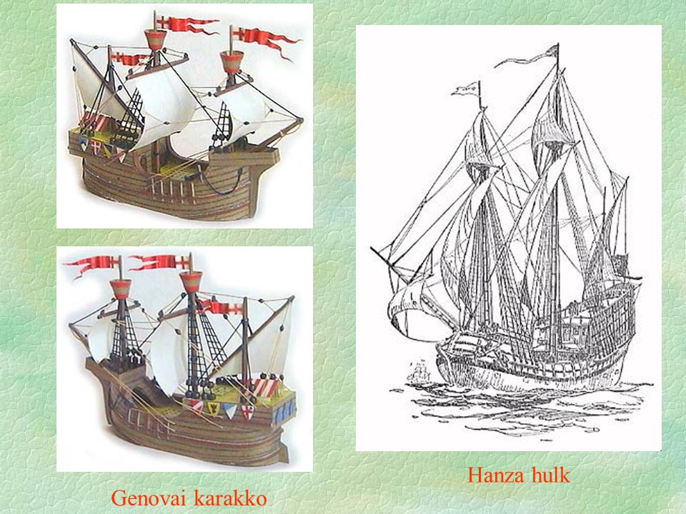 Genovai karakko Hanza hulk