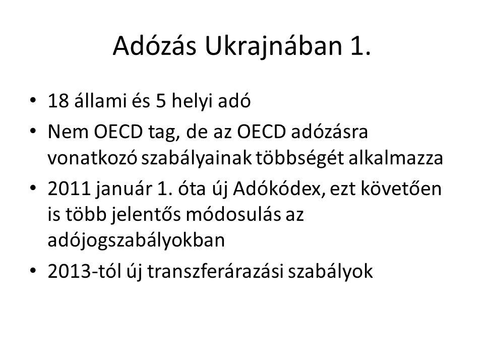 Adózás Ukrajnában 1.