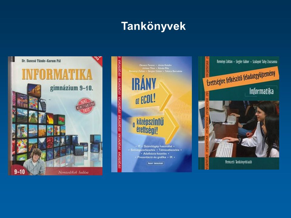 Dolgozat témakörei: Számítógépek alkalmazása a gyakorlatban Operációs rendszerek és feladatuk FAT-rendszerek, fájltípusok Rendszerprogramok Vírusok Hálózatok és internetes tevékenységek, protokollok Háttértárolók Nyomtatók, szkennerek Monitorok Szerkesztőprogramok Multimédia
