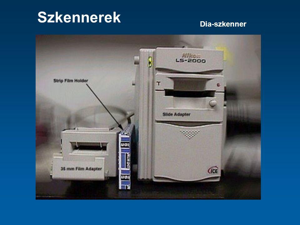 Szkennerek Dia-szkenner
