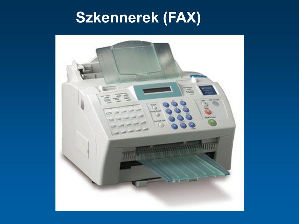 Szkennerek (FAX)