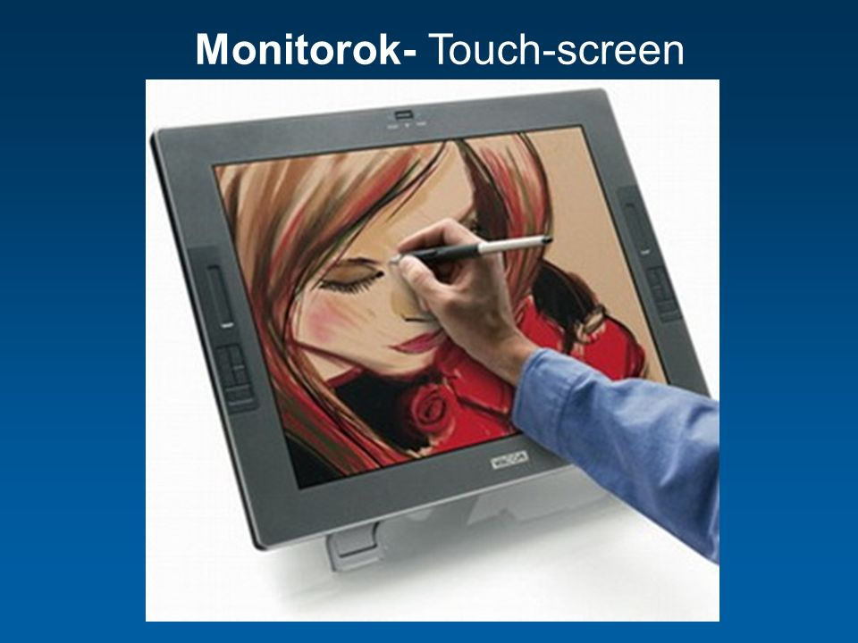 Monitorok- Touch-screen