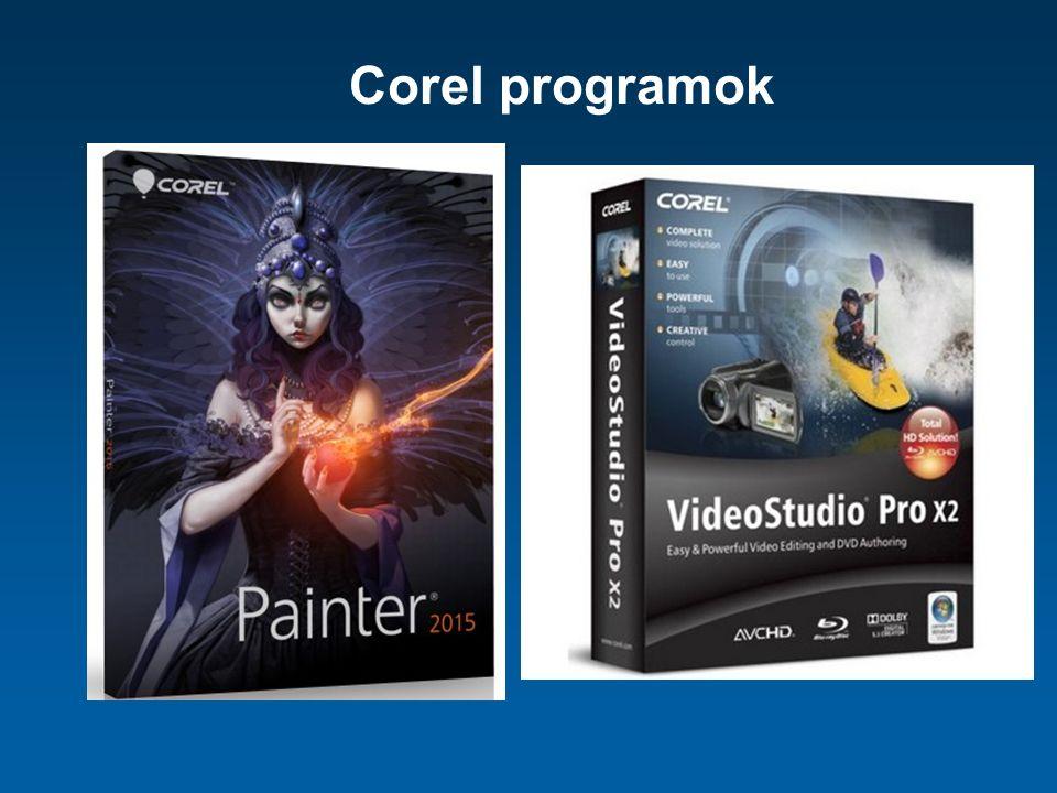Corel programok