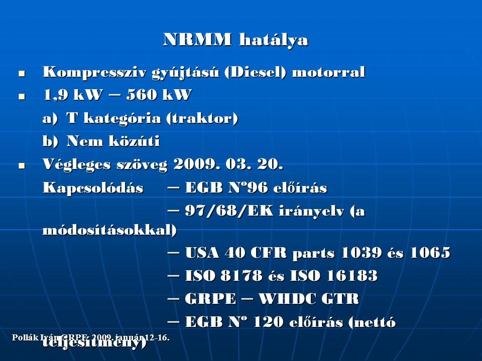 Pollák Iván GRPE 2009.január 12-16. G F V EGB 49 és EGB 83.