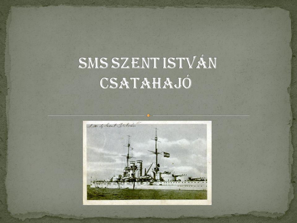 Csata hajó Ezzel a hajóval született meg az egységes nehéztüzérségű csatahajó, személyzete akár 1500 fő lehet