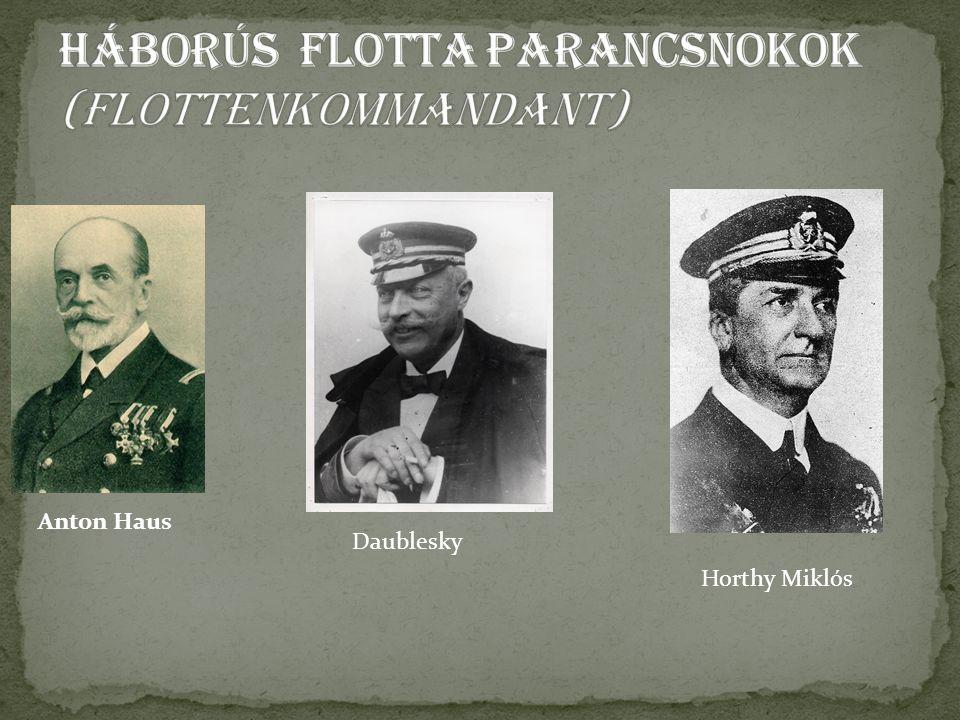 Horthy Miklós Anton Haus Daublesky