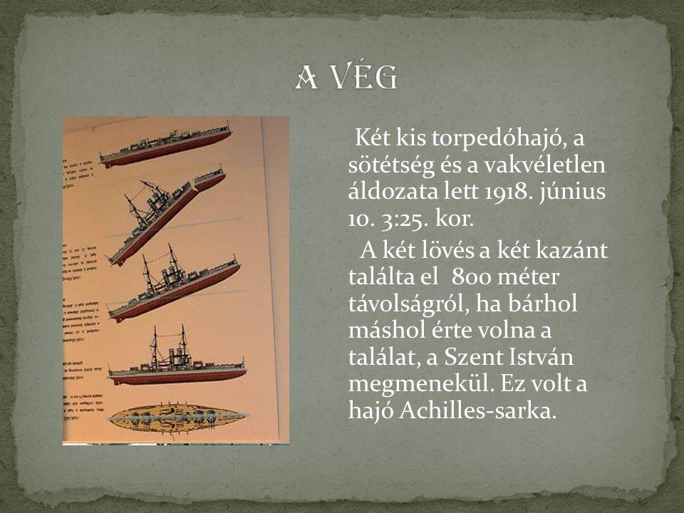 Két kis torpedóhajó, a sötétség és a vakvéletlen áldozata lett 1918.