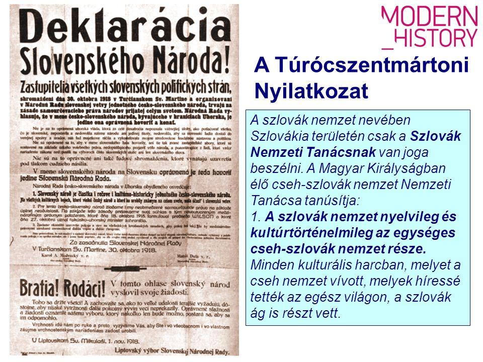 A szlovák nemzet nevében Szlovákia területén csak a Szlovák Nemzeti Tanácsnak van joga beszélni.