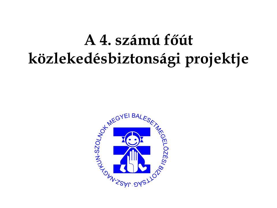 A 4. számú főút közlekedésbiztonsági projektje