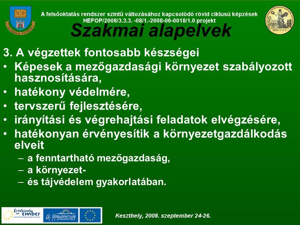 A szak alapításának előzményei Debrecen Az 1980-as évek végétől az agrármérnök képzésen belül szakirányú képzés indítására került sor, amelyben már több speciális szakmai tárgy szerepelt: környezetgazdálkodás, Vízszennyezés - vízminőség-védelem, környezetegészségtan, természetvédelem, környezeti méréstechnika, hulladékgazdálkodás, térinformatika, stb.)