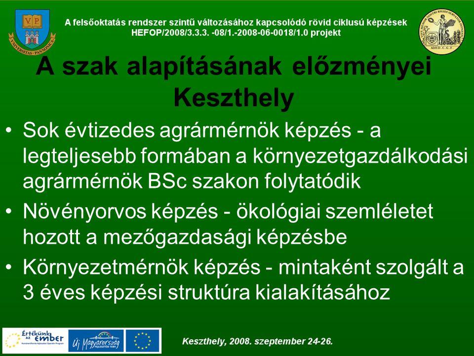 Doktori iskolák A legtehetségesebb hallgatók részére Debrecenben és Keszthelyen is lehetőség nyílik bekapcsolódni a doktori iskolák munkájába, amely során tudományos fokozat szerezhető.