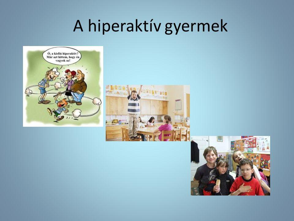 A hiperaktív gyermek
