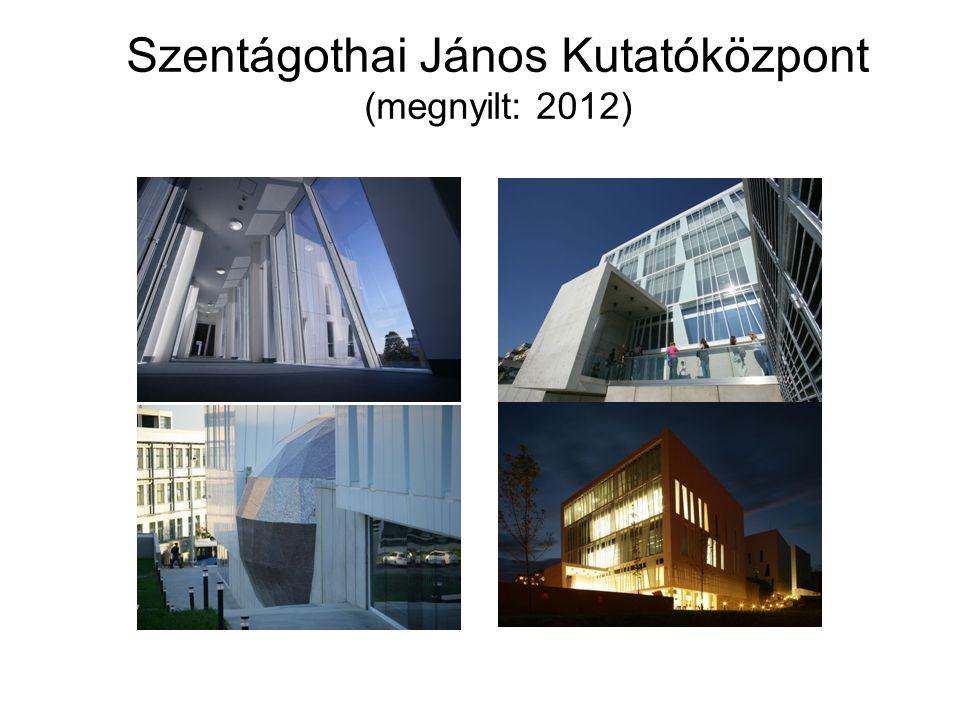 Szentágothai János Kutatóközpont A PTE K+F+I programjának legfontosabb eleme.