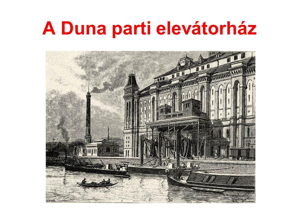 A Duna parti elevátorház