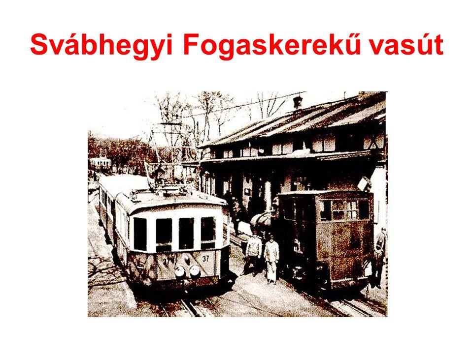 Svábhegyi Fogaskerekű vasút