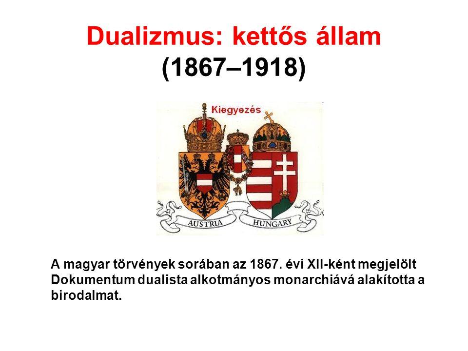 A magyar törvények sorában az 1867.