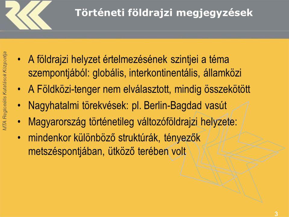 MTA Regionális Kutatások Központja Magyarország és a Közel-Kelet, hatalmi konfliktusok és térdinamika (vallási és hatalmi küzdelem) Keresztes hadjárat: II.