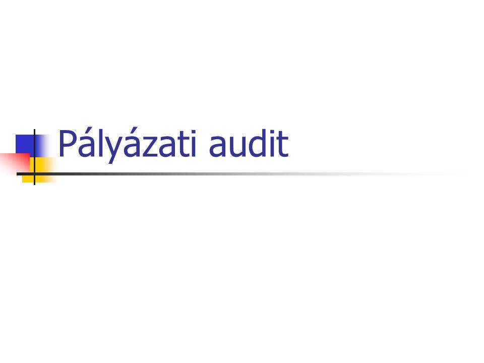 Pályázati audit