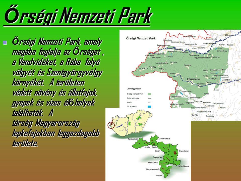 Ő rségi Nemzeti Park Ő rségi Ő rségi Nemzeti Park, amely magába foglalja az Ő rséget Ő rséget, a Vendvidéket, a Rába folyó völgyét és Szentgyörgyvölgy környékét.