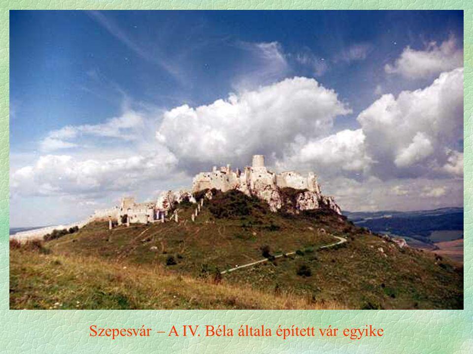 Szepesvár – A IV. Béla általa épített vár egyike