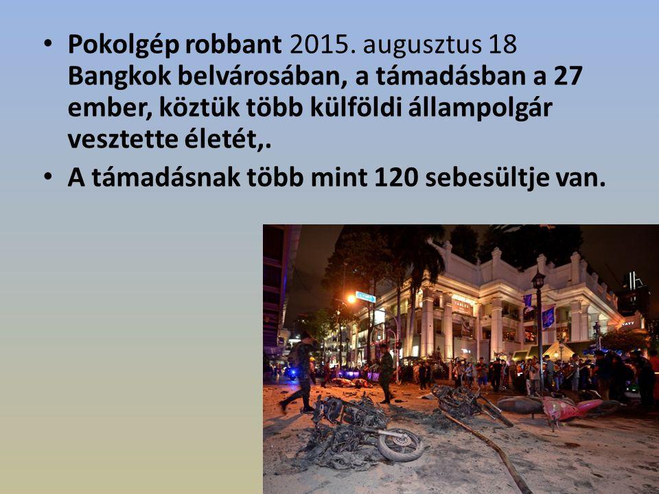 Pokolgép robbant 2015.