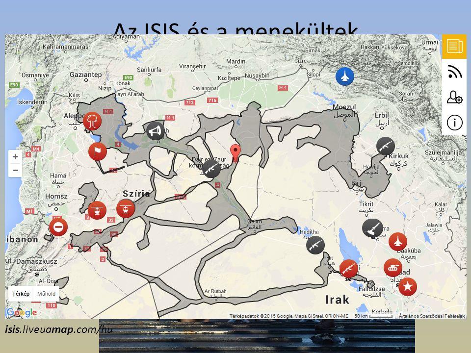 Az ISIS és a menekültek Az Iszlám Állam egyik ügynöke elárulta, hogy a rettegett szervezet a menekülthullámmal eddig négyezer dzsihádistát juttatott be Európa különböző országaiba.(2015.09.08) Minderről az express.co.uk számolt beexpress.co.uk isis.liveuamap.com/hu