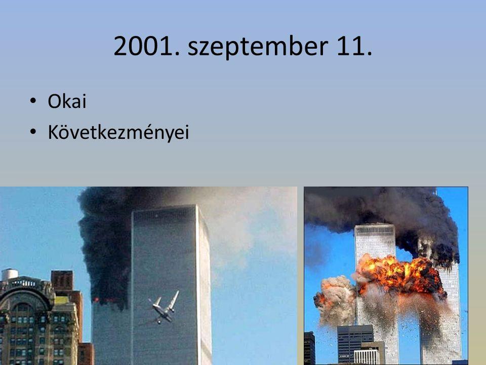 2001. szeptember 11. Okai Következményei