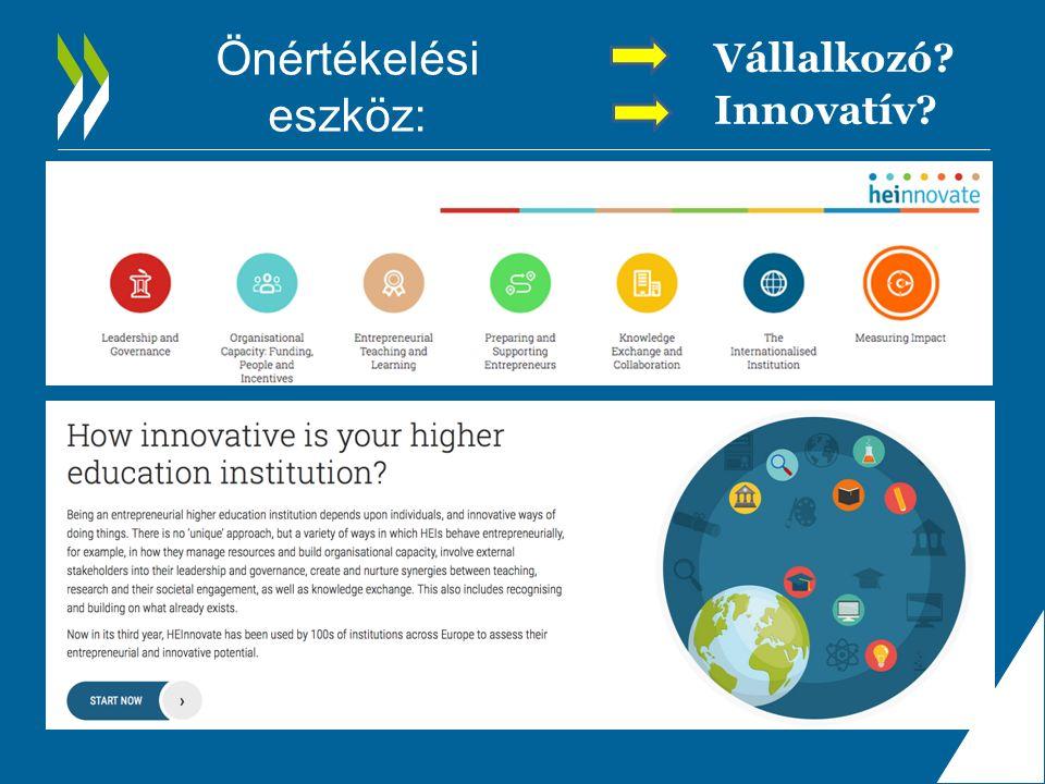 Önértékelési eszköz: Vállalkozó Innovatív