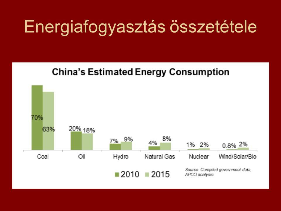 Energiafogyasztás összetétele