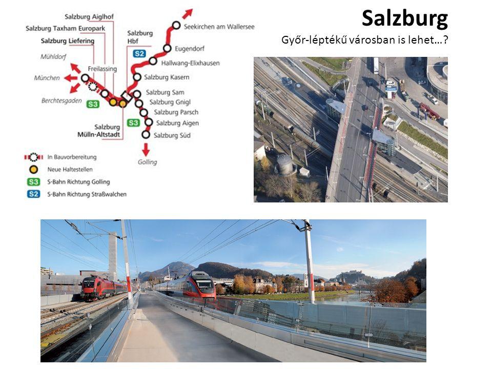 Salzburg Győr-léptékű városban is lehet…?
