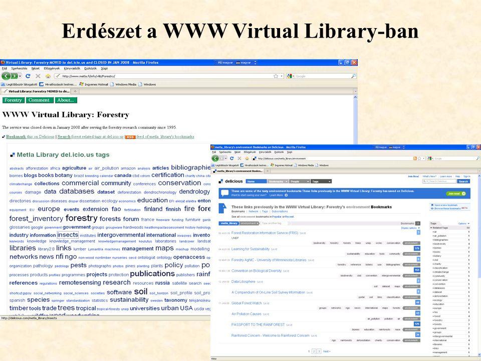 24 Erdészet a WWW Virtual Library-ban