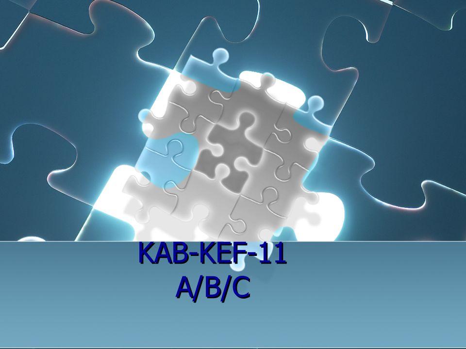 KAB-KEF-11 A/B/C