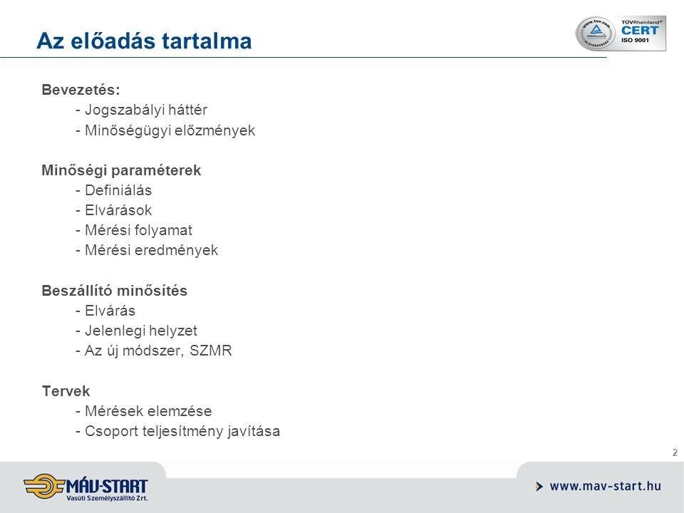 Előadó: Kozák Tamás Bevezetés