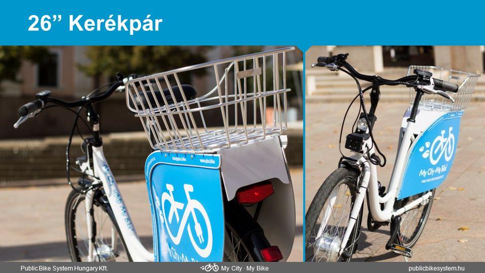 """26"""" Kerékpár Public Bike System Hungary Kft. My City ∙ My Bikepublicbikesystem.hu"""