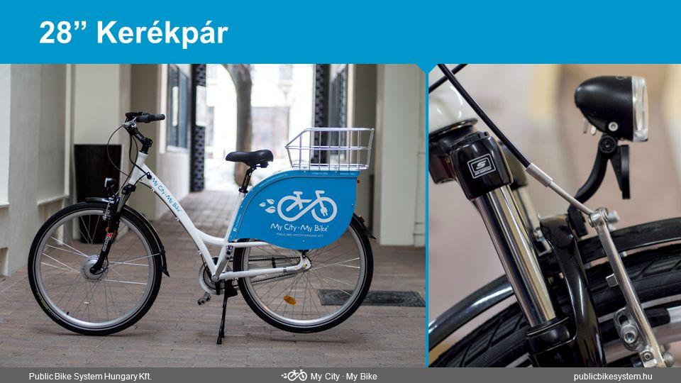 """28"""" Kerékpár Public Bike System Hungary Kft. My City ∙ My Bikepublicbikesystem.hu"""