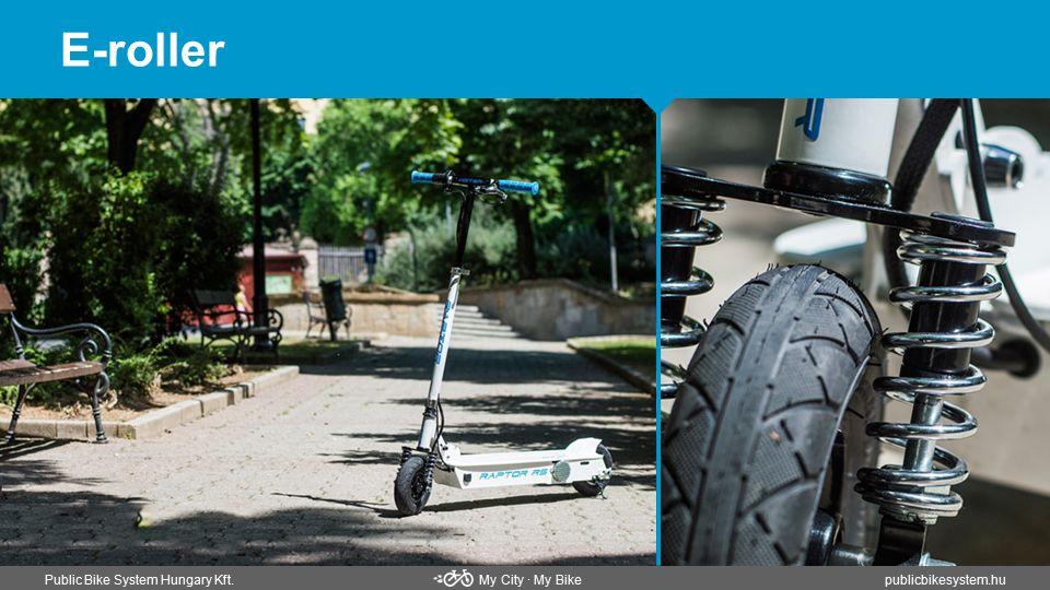 E-roller Public Bike System Hungary Kft. My City ∙ My Bikepublicbikesystem.hu