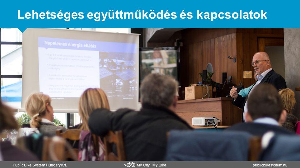 Lehetséges együttműködés és kapcsolatok Public Bike System Hungary Kft. My City ∙ My Bikepublicbikesystem.hu