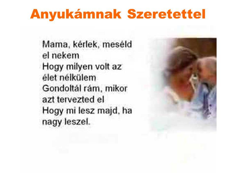 József Attila: Mama Már egy hete csak a mamára gondolok mindig, meg-megállva.