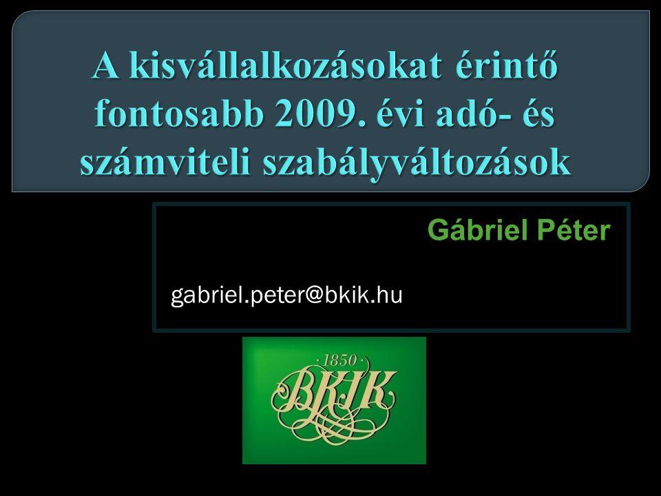 Gábriel Péter gabriel.peter@bkik.hu gabriel.peter@bkik.hu