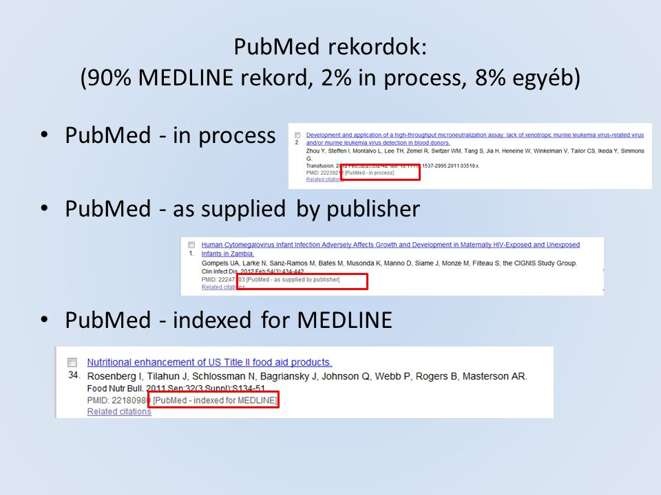 PubMed - basic search