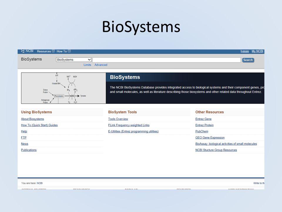 PubChem is organized as three linked databases within the NCBI s Entrez information retrieval system.Entrez PubChem SubstancePubChem Substance, PubChem CompoundPubChem Compound, PubChem BioAssayPubChem BioAssay.