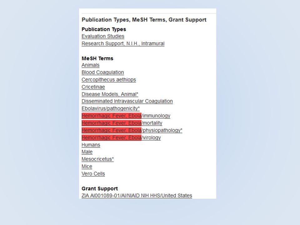 MEDLINE - PubMed Az alábbi adatbázisok közös adathalmazzal dolgoznak MEDLINE ( OVID, EBSCO stb.) Előfizetéses szolgáltatás Ellenőrzött rekordok, MESH tárgyszavakkal, több altárgyszóval (subheading) Értéknövelt szolgáltatások PubMed Ingyenes használat és hozzáférés Speciális rekordok (in process, as supplied by publisher,indexed for Medline ) Naponta frissül