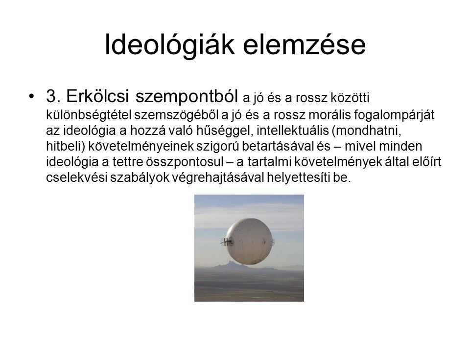 Ideológiák elemzése 3.