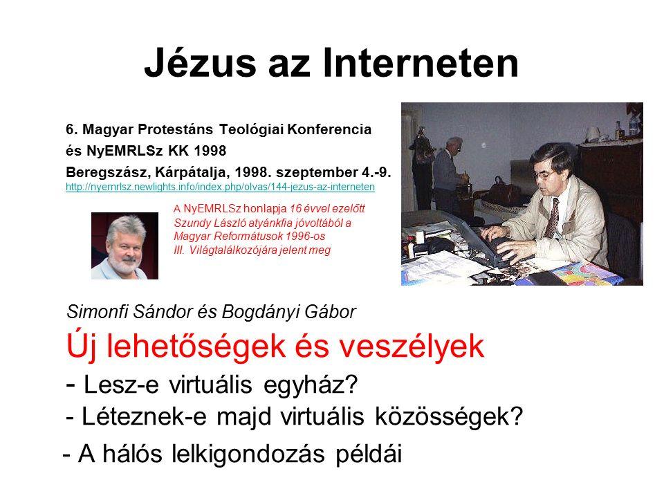 Jézus az Interneten 6.