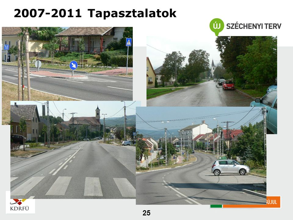 25 2007-2011 Tapasztalatok